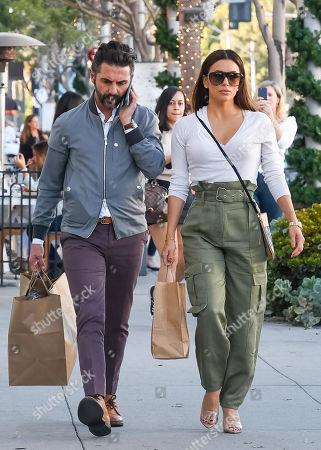 Eva Longoria and husband Jose Baston