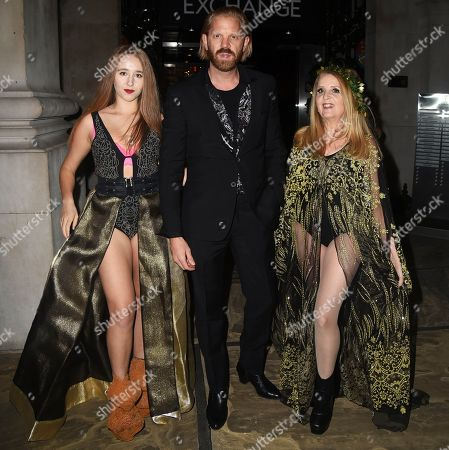 Afton McKeith, Alistair Guy and Gillian McKeith
