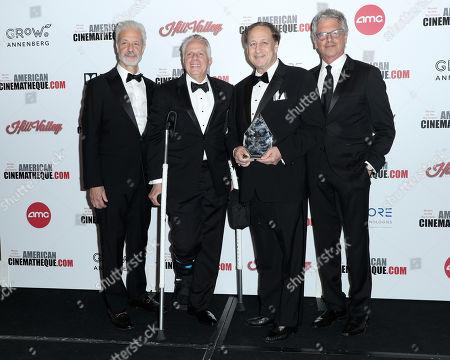 Rick Nicita, Mark Badagliacca, Adam Aron and Walter Parkes