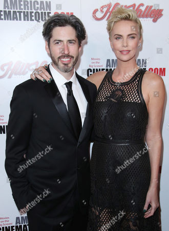 Jason Reitman and Charlize Theron