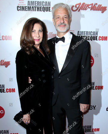 Stock Picture of Paula Wagner and Rick Nicita