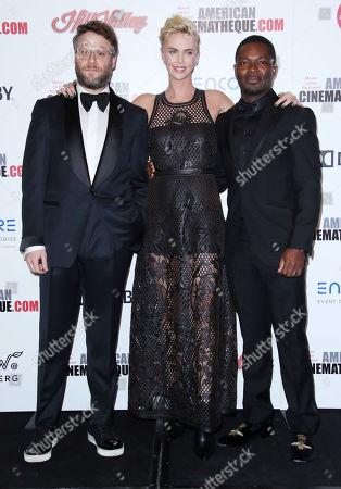 Seth Rogen, Charlize Theron and David Oyelowo