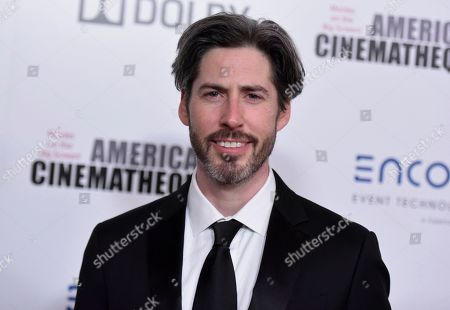 Jason Reitman arrives at the 33rd American Cinematheque Award honoring Charlize Theron at the Beverly Hilton Hotel, in Beverly Hills, Calif