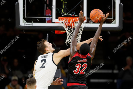 Editorial picture of SIU-Edwardsville Iowa Basketball, Iowa City, USA - 08 Nov 2019