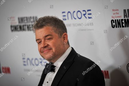 Patton Oswalt poses for photographers upon his arrival for the American Cinematheque 2019 Award Show at the Beverly Hilton in Los Angeles, California, USA, 08 November 2019.