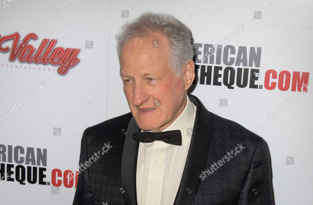 Stock Photo of Michael Mann poses for photographers upon his arrival for the American Cinematheque 2019 Award Show at the Beverly Hilton in Los Angeles, California, USA, 08 November 2019.