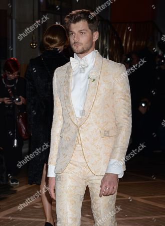 Stock Picture of Jim Chapman on the catwalk