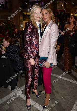 Laura Whitmore and Laura Pradelska