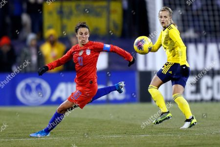 Editorial photo of Sweden US Soccer, Columbus, USA - 07 Nov 2019