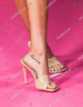 Jessica Goicoechea, shoe detail