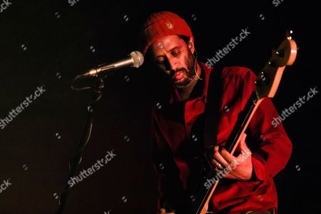 Guy Garvey of Elbow performs live at Alcatraz on November 07, 2019 in Milano, Italy.
