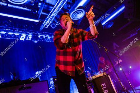 Editorial picture of Elbow in concert at Alcatraz, Milan, Italy - 07 Nov 2019