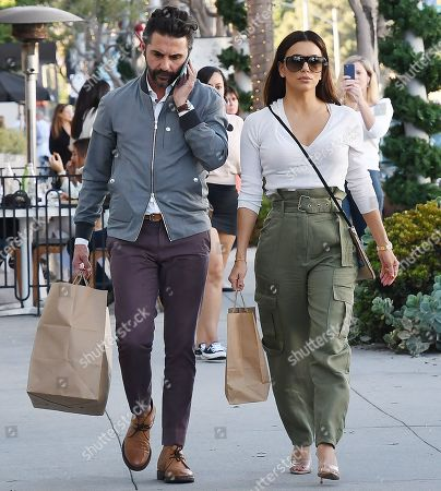 Editorial photo of Eva Longoria out and about, Los Angeles, USA - 08 Nov 2019