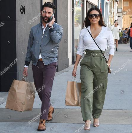 Stock Photo of Jose Baston and Eva Longoria