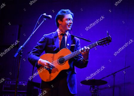 Editorial image of Ben Kweller in concert, New York, USA - 08 Nov 2019