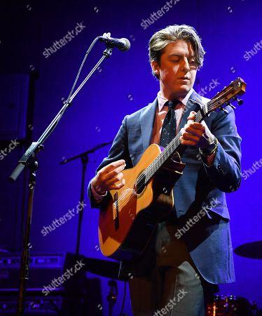 Editorial photo of Ben Kweller in concert, New York, USA - 08 Nov 2019