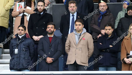 QPR Commercial & Marketing - Rememerance Day , Armistice Day,  Minute's Silence, bugler, last post, paras, paratroopers ,poppy, poppies  Amit Bhatia - QPR Chairman (front 2nd left)