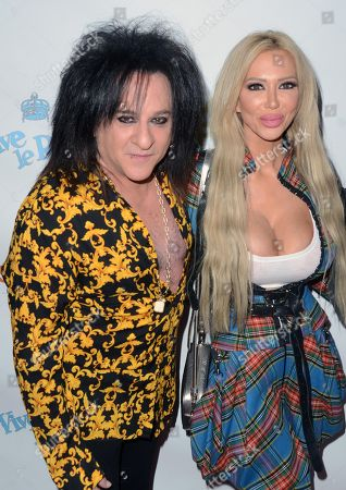 Editorial photo of Billy Morrison and Steve Stevens Pop-Up Art Show, Los Angeles, USA - 08 Nov 2019