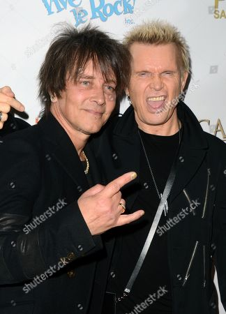 Billy Morrison and Billy Idol