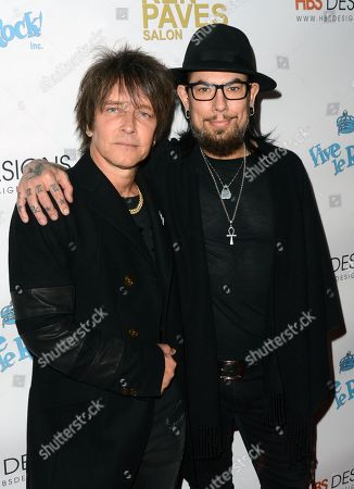 Stock Picture of Billy Morrison and Dave Navarro