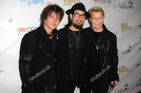 Stock Photo of Billy Morrison, Dave Navarro and Billy Idol
