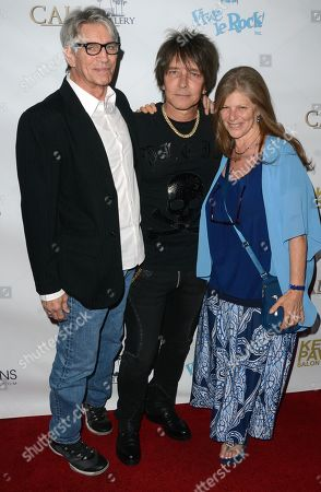 Stock Photo of Eric Roberts, Billy Morrison and Eliza Roberts
