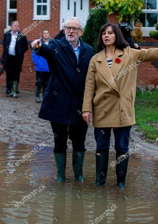 Editorial photo of Jeremy Corbyn visits flood victims, Doncaster, United Kingdom - 09 Nov 2019