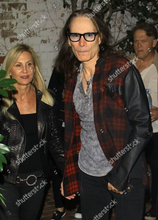 Stock Photo of Pia Maiocco and Steve Vai