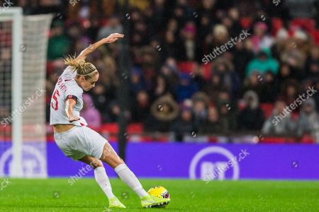 Steph Houghton (Capt) (England) during the International Friendly match between England Women and Germany Women at Wembley Stadium, London