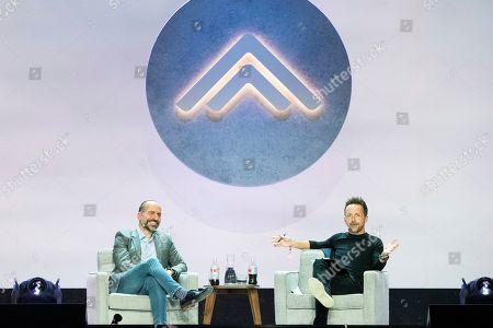 Dara Khosrowshahi, Brad Gerstner. Uber CEO Dara Khosrowshahi, left, and Brad Gerstner seen on day one of Summit LA19 in Downtown Los Angeles, in Los Angeles