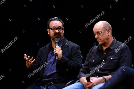 Stock Image of James Mangold, Michael McCusker are seen at the Produced By: New York Conference at Florence Gould Hall, in New York
