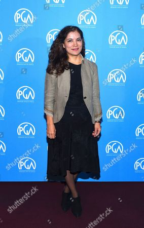 Frida Torresblanco is seen at the Produced By: New York Conference at Florence Gould Hall, in New York