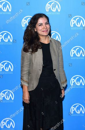 Stock Image of Frida Torresblanco is seen at the Produced By: New York Conference at Florence Gould Hall, in New York