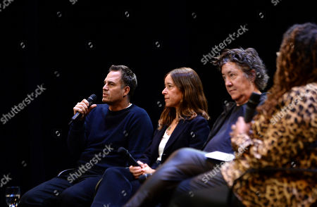 Mark Ruffalo, Pamela Koffler, Christine Vachon, Lisa Cort's. Mark Ruffalo, Pamela Koffler, Christine Vachon, Lisa Cortés are seen at the Produced By: New York Conference at Florence Gould Hall, in New York