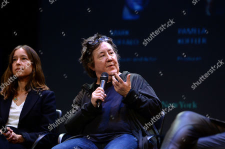Pamela Koffler, Christine Vachon are seen at the Produced By: New York Conference at Florence Gould Hall, in New York