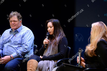 Banks Tarver, Nina Yang Bongiovi, Lori McCreary as seen at the Produced By: New York Conference at Florence Gould Hall, in New York