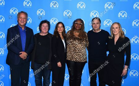 Vance Van Petten, Christine Vachon, Pamela Koffler, Lisa Cort's, Mark Ruffalo and Susan Sprung. Vance Van Petten, Christine Vachon, Pamela Koffler, Lisa Cortés, Mark Ruffalo and Susan Sprung are seen at the Produced By: New York Conference at Florence Gould Hall, in New York