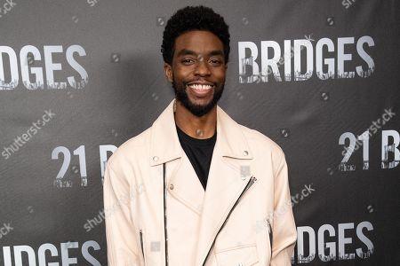 Editorial picture of '21 Bridges' film photocall, Los Angeles, USA - 09 Nov 2019