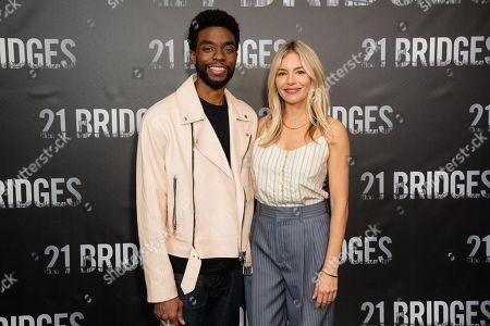 Editorial image of '21 Bridges' film photocall, Los Angeles, USA - 09 Nov 2019