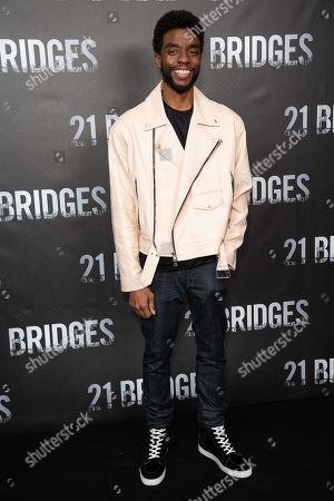 Stock Image of Chadwick Boseman