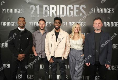 Editorial photo of STXFilms 21BRIDGES Photo Call, Beverly Hills, USA - 09 November 2019