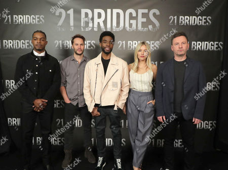 Editorial picture of STXFilms 21BRIDGES Photo Call, Beverly Hills, USA - 09 November 2019
