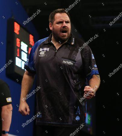 Editorial picture of 2019 Grand Slam of Darts, Wolverhampton - 09 Nov 2019