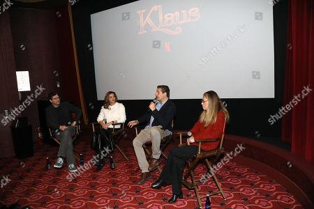 "Editorial photo of New York Tastemaker for NETFLIX's ""Klaus"", USA - 09 Nov 2019"