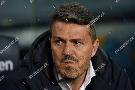 Stock Image of RC Celta new head coach Oscar Garcia