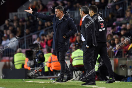 Stock Picture of RC Celta new head coach Oscar Garcia