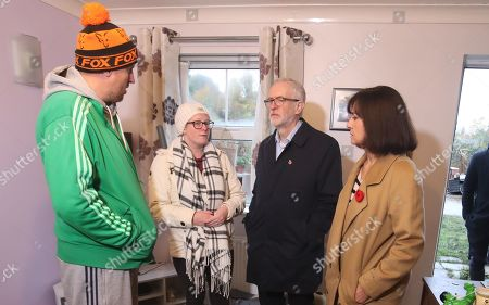 Editorial image of Corbyn visits flood victims in South Yorkshire, Coinborough, United Kingdom - 09 Nov 2019