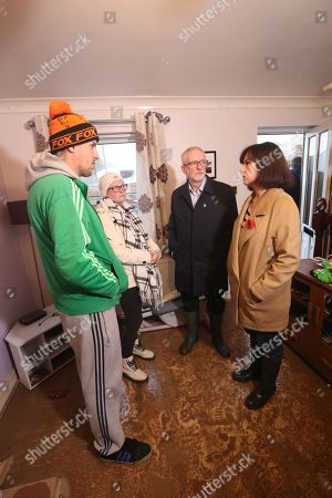 Editorial picture of Corbyn visits flood victims in South Yorkshire, Coinborough, United Kingdom - 09 Nov 2019
