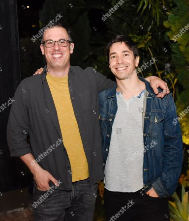 Daniel Schechter and Justin Long