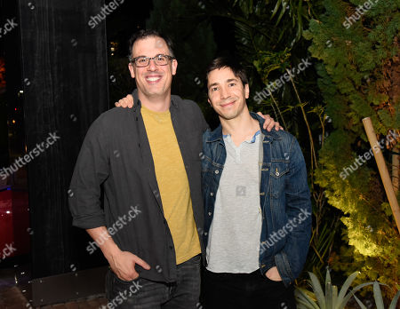 Stock Picture of Daniel Schechter and Justin Long